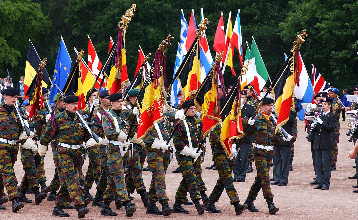 Aus Besatzern wurden Freunde - 70 Jahre Belgier in Troisdorf