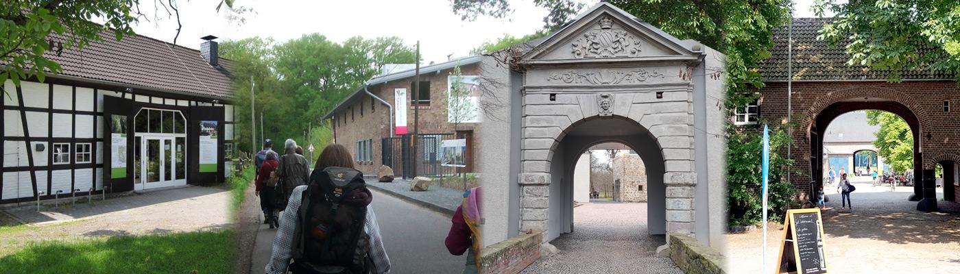 Besucher-Portale Gut leidenhausen, Burg Wissem, Turmhof, Steinhaus